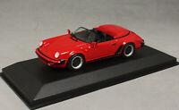Minichamps Maxichamps Porsche 911 930 Speedster in Red 1988 940066130 1/43 NEW