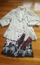 Get the Look! Complete Outfit: Size L Trenchcoat 12 Sundress 12 Blouse 9 Loafers