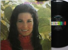 Country Lp Loretta Lynn Here I Am Again On Decca