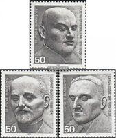 BRD (BR.Deutschland) 871-873 (kompl.Ausgabe) gestempelt 1975 Sondermarken