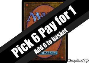 Magic the Gathering - MTG - Black Cards x1 (F-Q)(M19 & Various Sets)