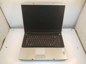 """Gateway M465-E 15.4"""" Core Duo 1.66GHz 1.5GB RAM No HDD Boot to BIOS"""