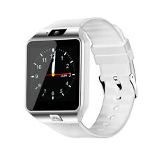 BLUETOOTH SMART WATCH WITH CAMERA MIC TEXTING CALLING MUSIC PLAYER SIM SUPPORT