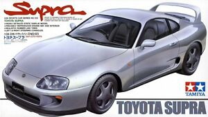 Tamiya 24123 1/24 Scale Model Sports Car Kit Toyota Supra MK4 JZA80