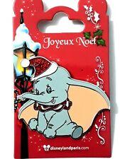 Disney Paris Pins Noël DUMBO CHAPEAU - Christmas DUMBO HAT OE dlp dlrp