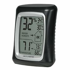 AcuRite 00325 Indoor Thermometer with Digital Hygrometer and Humidity Gauge