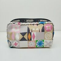LeSportsac Disney It's a Small World Global Journey Small Cosmetic Bag Pouch
