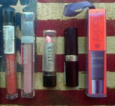 5pc lipstick & balm set: Rodial, Revlon, Rimmel, Maybelline & L.A. Colors