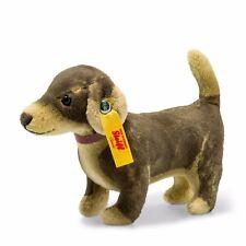 Steiff 036057 Waldo Dackel 13cm braun Hund stehend