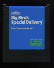 BIG BIRD'S SPECIAL DELIVERY Cartridge Commodore 64 Video Game Works Screen Shots
