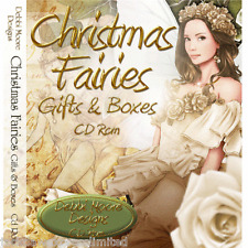 1 x Debbi Moore Designs Christmas Fairies Gifts & Boxes CD Rom (293855)
