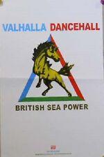 BRITISH SEA POWER VALHALLA DANCEHALL POSTER -SMALL  (Z7)