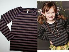 Nwot Matilda Jane You & Me Holt Licorice Striped Tee Top Girl Size 8 New