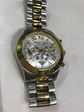 Michael Kors All stainless steel Wrist Watch Chronograph Gold and Silver Tone