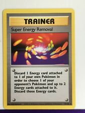 Pokemon Base Set Non Holo Super Energy Removal 79/102