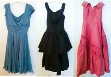Vintage 1950s 50s EVENING FORMAL DRESS Prom Party Cocktail Swing Lot of 3 As Is