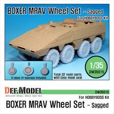 DEF. MODEL, BOXER MRAV Sagged Wheel set, DW35015, 1:35