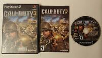 Call of Duty 3 PlayStation 2 PS2 - Complete Game CIB Tested & Works