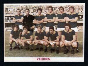 RARA FIGURINA CALCIATORI CALCIO SQUADRE BAGGIOLI ? 1976 VERONA