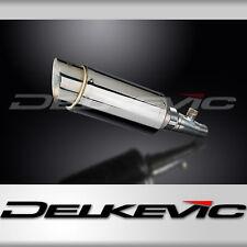 "Honda Silver Wing FSC600 Mini 8"" Stainless Round Muffler Exhaust 02-11 12 13 14"