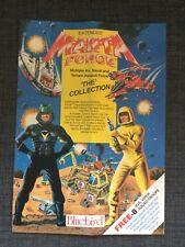 """M.a.n.t.a Manta Force """"la collection"""" Publicité Notice 80 S RARE."""