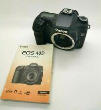 CANON EOS 40D 10.1 Mpx Digital SLR Digital Camera 8434 Shuts + Charger