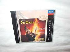 DECCA CD WAGNER 'DIE WALKURE ACT 3' FLAGSTAD & SOLTI - ALL PRISTINE!!!