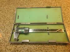 Mitutoyo Digital Caliper Cd 6 Bs 500 136 With New Battery Case And Instructions