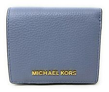 Michael Kors Jet Set Travel Signature Leather Carryall Card Case Wallet
