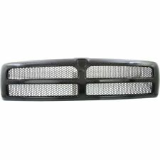 New CH1200188 Black Plastic Honeycomb Grille for Dodge Ram 1500 ~ 3500 1994-2002