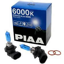 PIAA Stratos Bleu HB3/Ampoules Phare Voiture HB4 (Twin) 6000K Halogène
