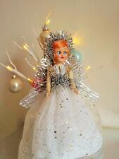 Vintage Christmas Fairy/Angel doll 1950's Tree topper