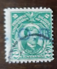 Philippines stamp hand stamped , OB on 2 centavos used hinged