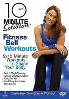 10 Minuti Soluzione - Fitness Sfera Allenamenti DVD Nuovo DVD (ABD5158)