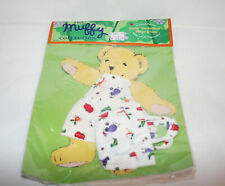 NEW VTG 1996 The MUFFY COLLECTION VanderBear & Friends Apron & Tote Outfit