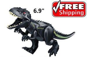 NEW Black T-rex Indoraptor Dinosaur Jurassic World  Park fit Lego FAST SHIP
