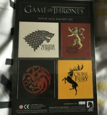 Game of Thrones House Sigil Magnet Set new