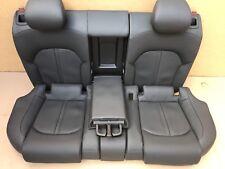 AUDI rs7 s7 a7 LEATHER SEAT SEDILI IN PELLE SEDILE POSTERIORE riscaldabile SACCA PORTASCI da parte di carico