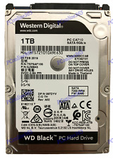 "Western Digital WD Black 1TB 2.5"" PC Hard Drive, 7200RPM, for work & gaming"