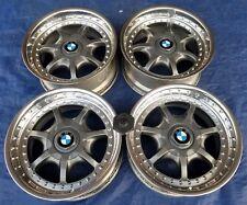 BMW E28 E34 535i M5 E24 M3 OEM E39 540i BBS Anthracite 17x8 Style 19 Wheels Rims