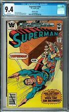 Superman #345 CGC 9.4 (Mar 1980, DC) Andru & Giordano cover, Whitman variant