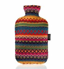 Fashy - Wärmflasche 2,0l mit Bezug Peru Bunt (6757-25) Bettflasche Perudesign