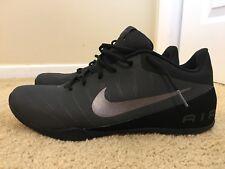 NIKE AIR MAVIN  2, 830368-003, Black/Gray, Men's Basketball Shoes, Size 14