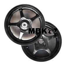Coppia cerchi cerchioni anteriore / posteriore nero ruota originale MBK Nitro 50