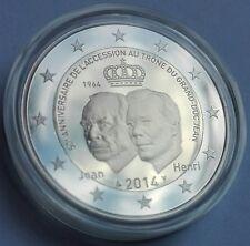 Gedenkmünze/ Commemorative/ Luxemburg 2014 PP/ Proof/ 50. Jahrestag/ Anniversary