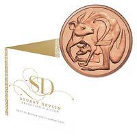 2017 Royal Australian Mint - Stuart Devlin 2c Uncirculated Coin