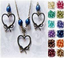 Glass Alloy Charm Fashion Necklaces & Pendants
