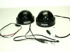 Pro Video Dome Camera Lot of 2 Security Camera Cctv Black - Working Condition