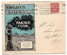 Advertising envelope of Ewarts's Emperor Smoke Cure cowel & Works Hull enevelope