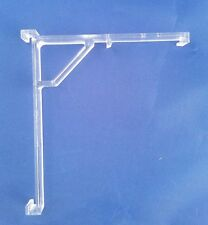 Vertical Blind Clear Valance Clip Bracket - PKG Of 10